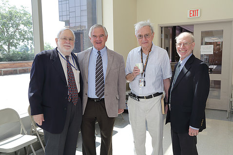 Dr. Schechter and distinguished guests