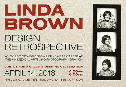 Poster announcing exhibit