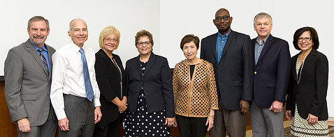Group shot of the National Cancer Advisory Board