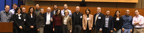 Dr. Waletzky and his family and colleagues