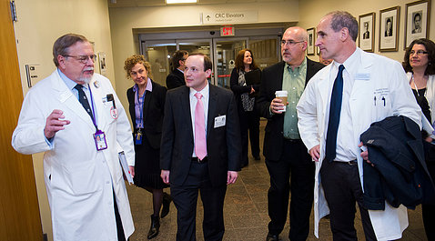NRC Commissioner tours the NIH Clinical Center