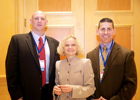Dr. Nora Volkow, Will Mueller, and Daniel Goonan