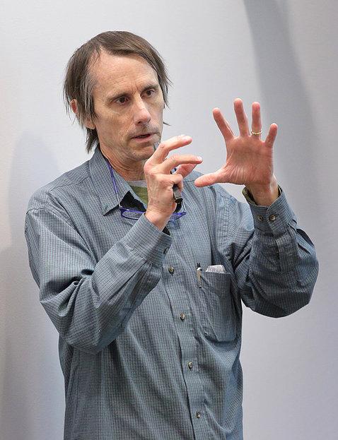 Dr. Mattson gives talk at NIH.