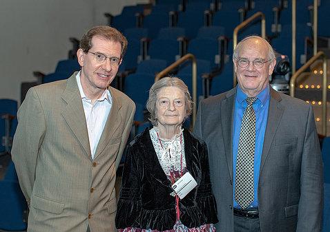 Drs. Albert La Spada, Jane Sayer and Paul Sieving