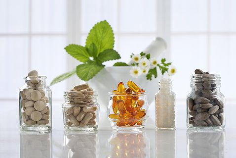 Several types of botanical supplements