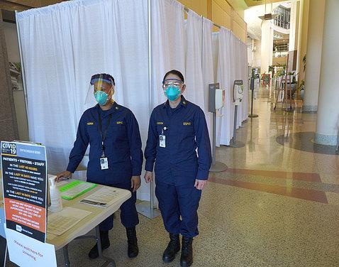 Members of coronavirus response team