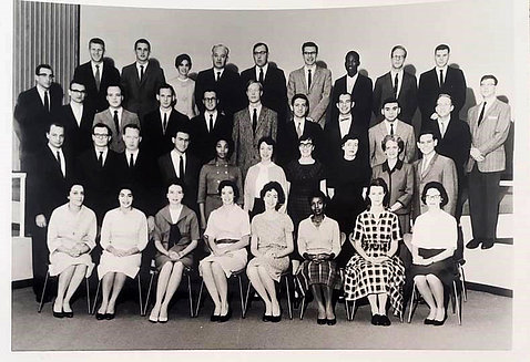 Group photo of more than 2 dozen individuals