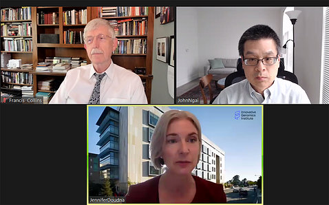 Drs. Collins, Ngai and Doudna on videocast