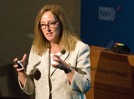 Dr. Marshall speaks at NIH.