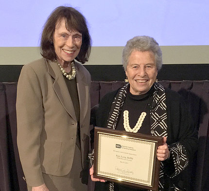 Dr. Patricia Grady and Dr. Kate Lorig