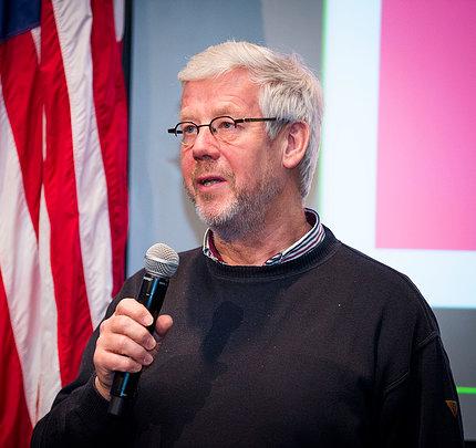 Panelist Dr. Ben van Ommen