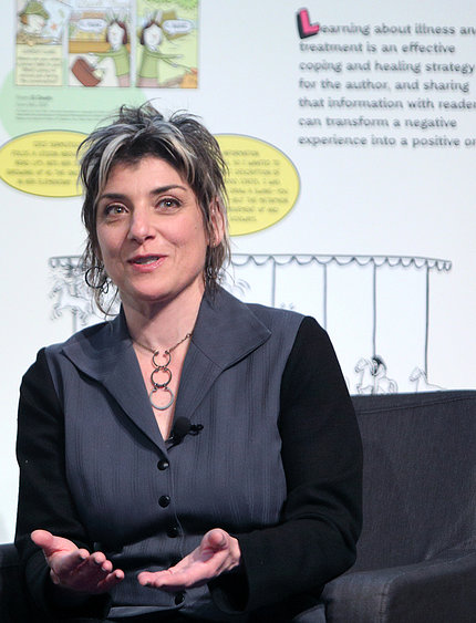 Artist and author Ellen Forney