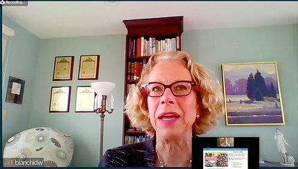 Dr. Bianchi speaks on video.