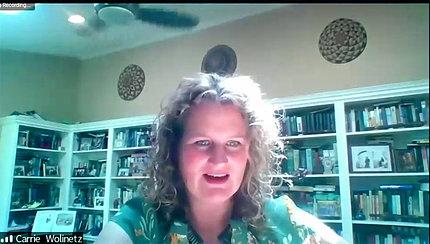 Dr. Wolinetz speaks on video.