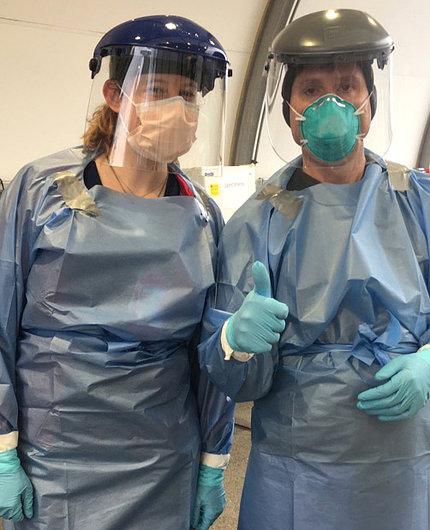Volunteer testers for coronavirus