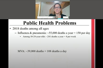 Dr. Horowitz speaks on video