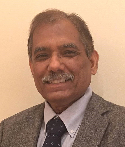 A smiling Srivastava