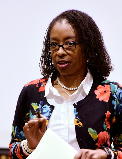 Dr. Ericka Reid welcomes Black to NIEHS.