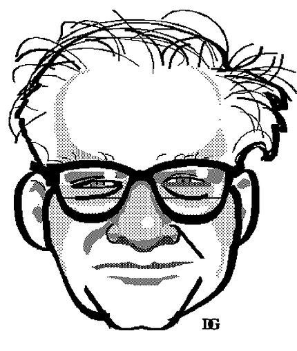 Illustration of Dr. Irwin J. Kopin
