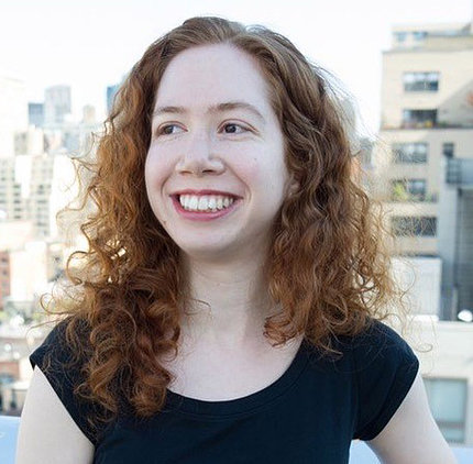 A smiling Dr. Samantha Kleinberg