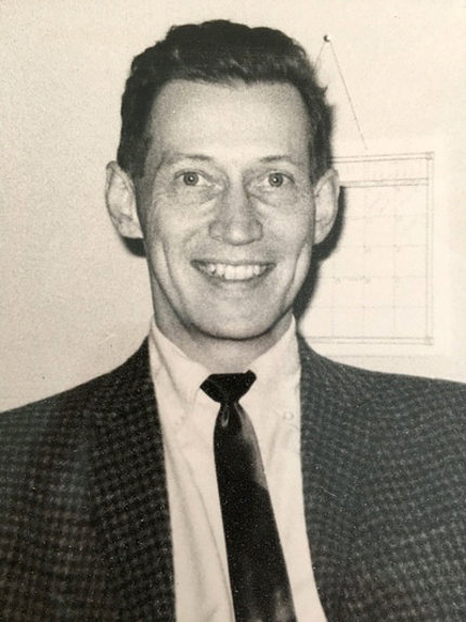 Dr. Arthur A. Campbell, head & shoulders, in black & white image