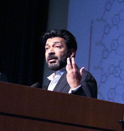 Dr. Siddhartha Mukherjee speaks