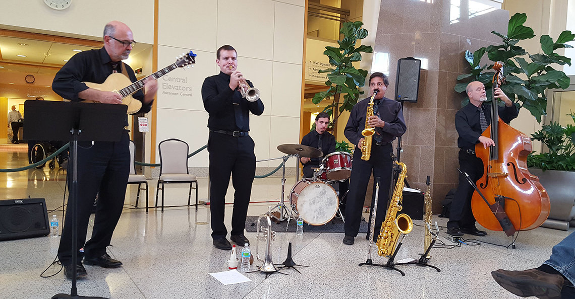 The University of Maryland School of Music Jazz Quintet