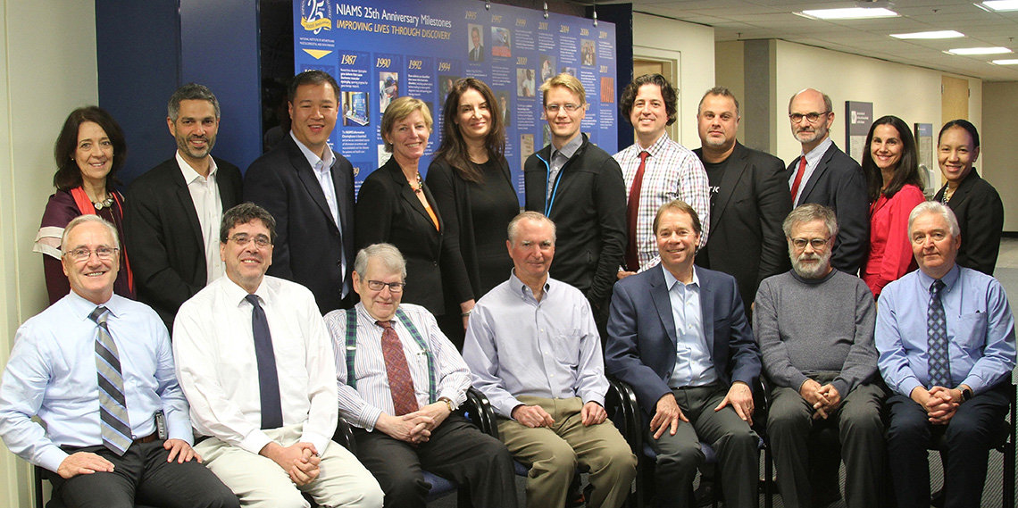 Attendees of the NIAMS roundtable