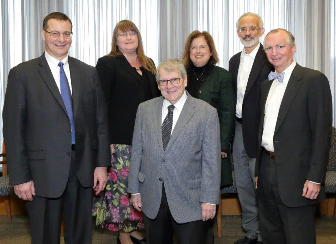 Katz, Carter and new NIAMS council members pose together