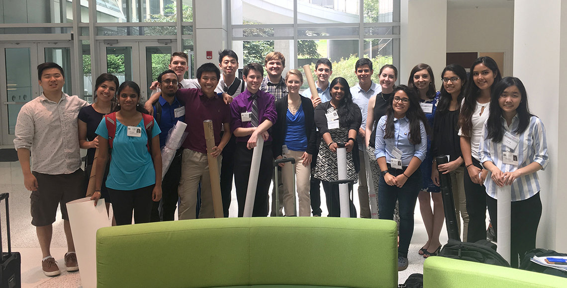 NCI's Undergraduate Research Conference participants