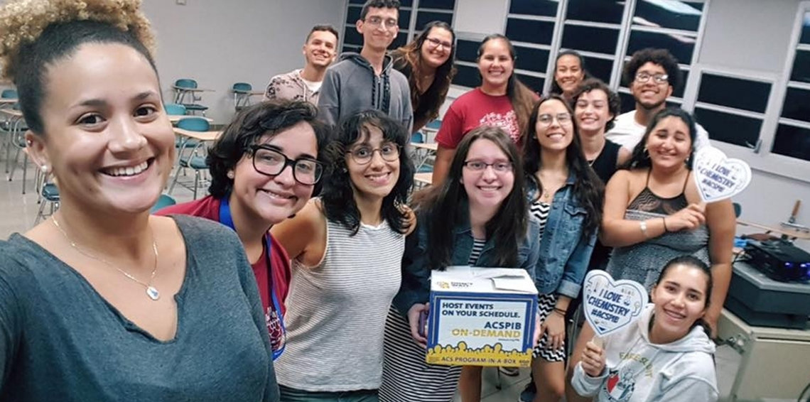 14 chemists from the University of Puerto Rico in Mayagüez