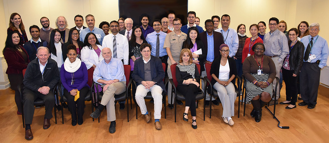 Group shot of the NIAMS lupus clinical research team