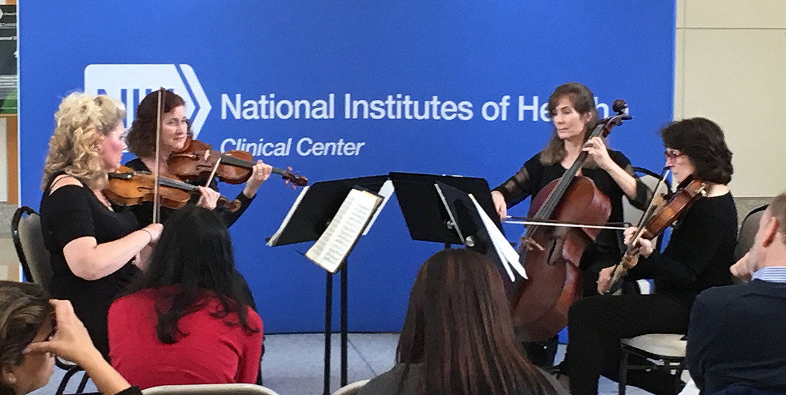 String quartet from the National Symphony Orchestra