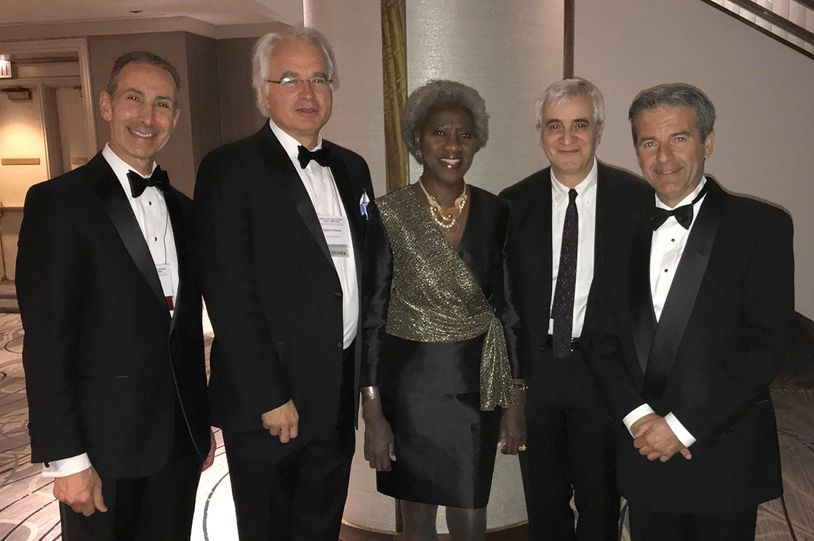 Dr. Darryl Zeldin, Dr. Stephen Chanock, Dr. Hannah Valantine, Dr. Luigi Ferrucci, and Dr. Constantine Stratakis