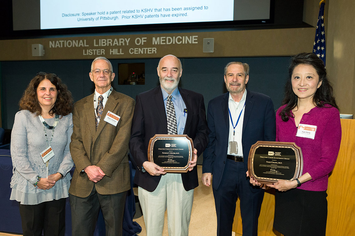 NCI honors two researchers.