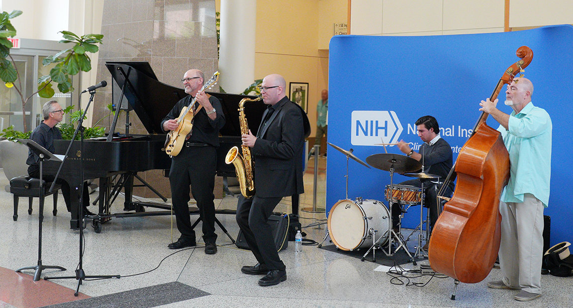 The University of Maryland Jazz Combo plays classic and the contemporary jazz