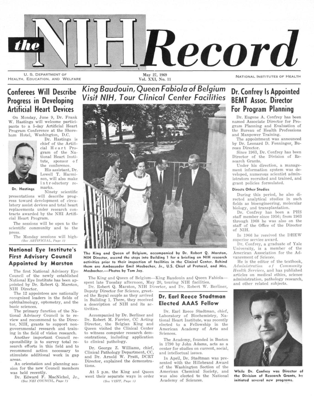 Record cover 1969