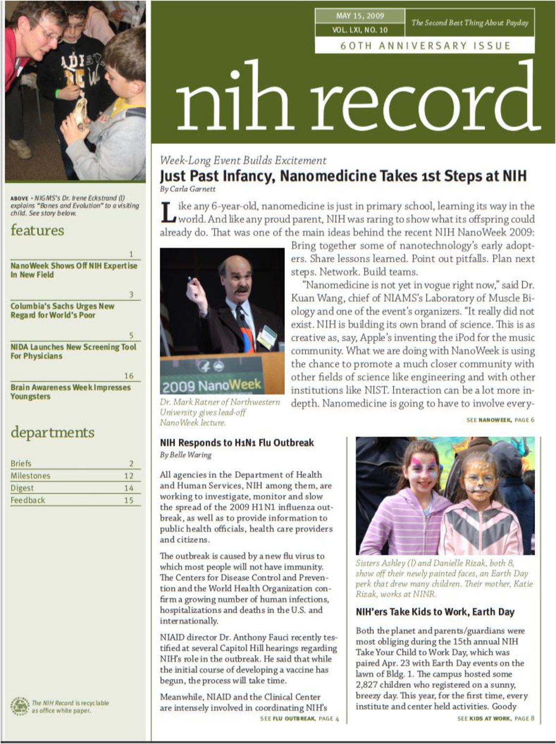 Record cover 2009