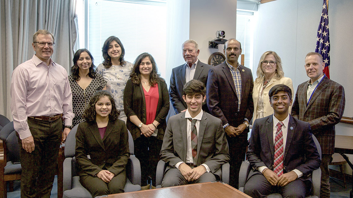 A group photo of the winners of NIDA's 2019 Addiction Science Awards
