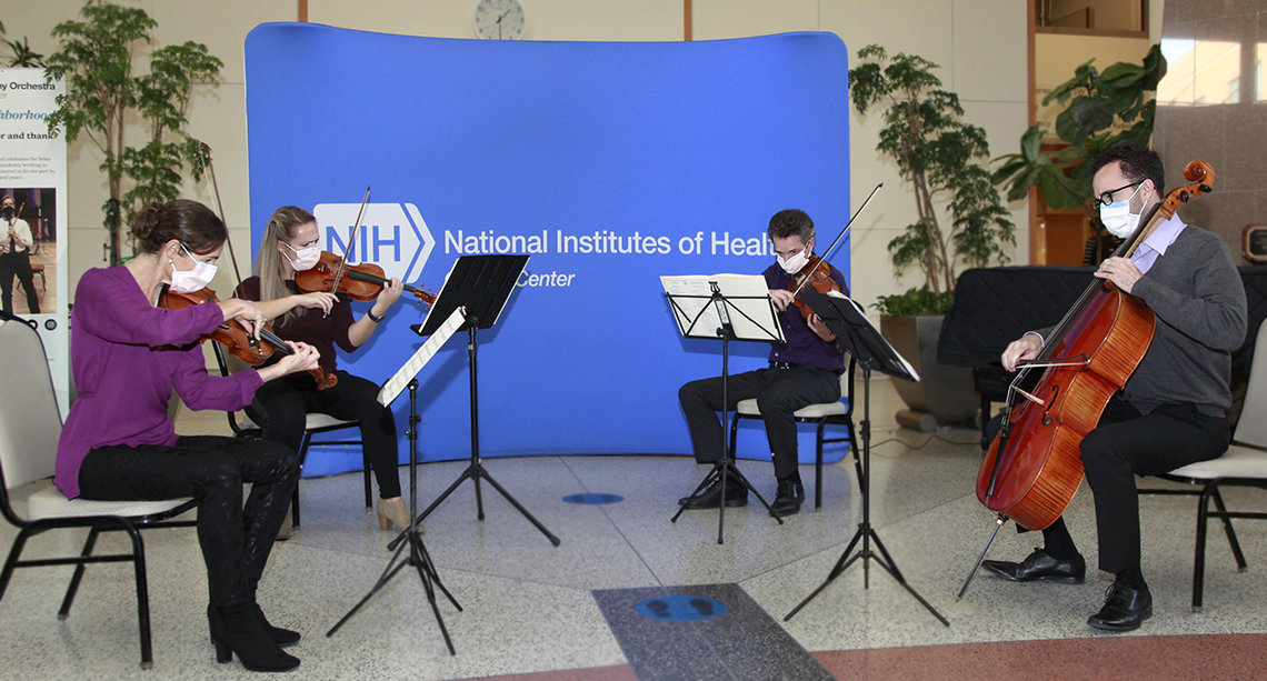 NSO Ensemble plays in CC