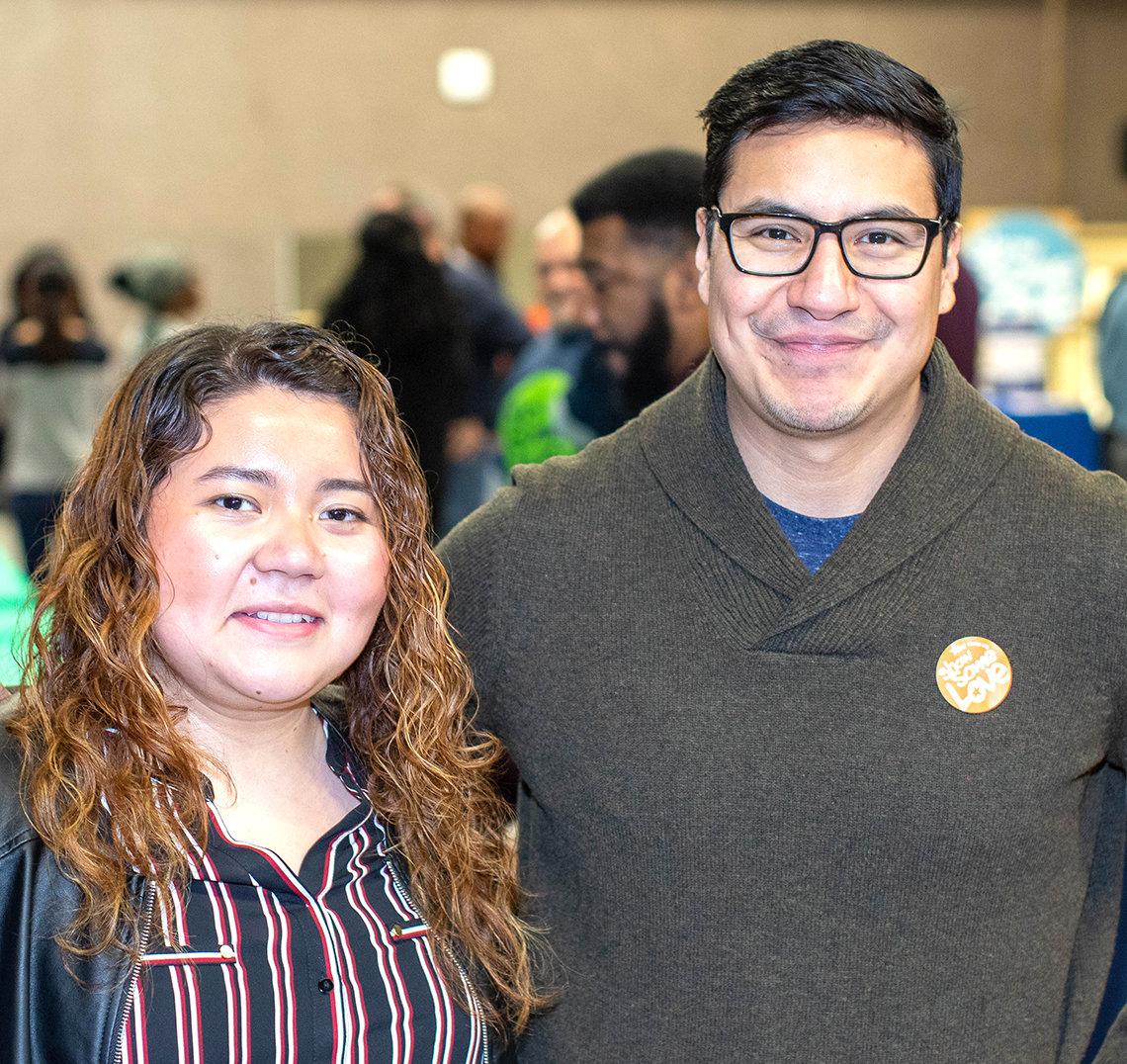 Ana Perez Mejia and Eli Flores