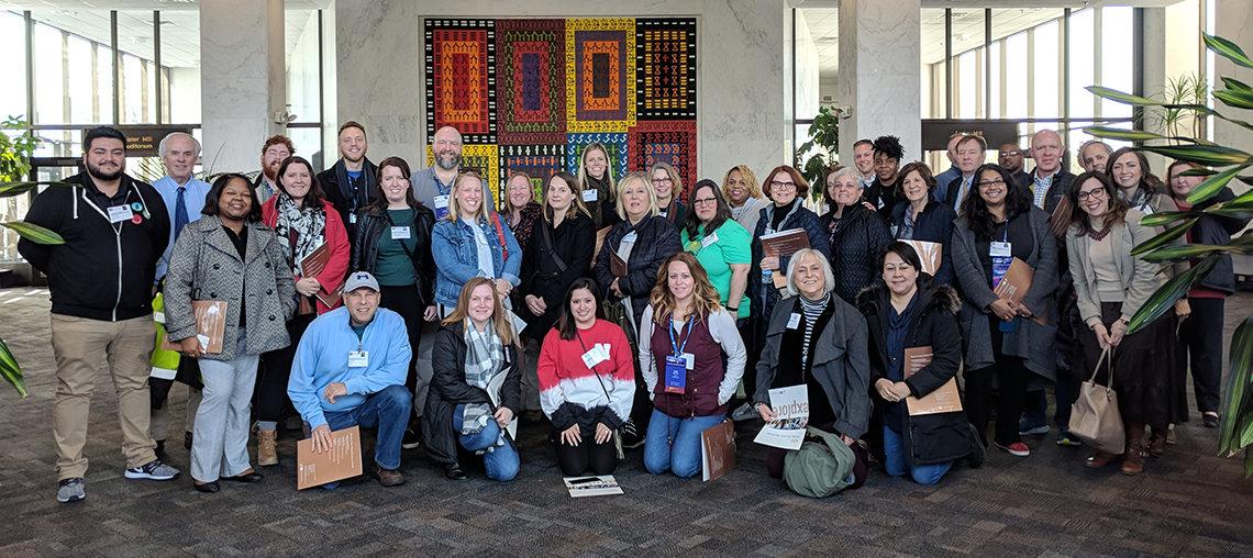 NETA group photo