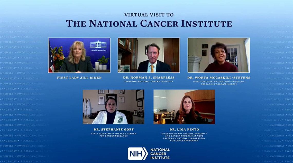 Screenshot group--Biden, Sharpless, McCaskill-Stevens; Goff and Pinto