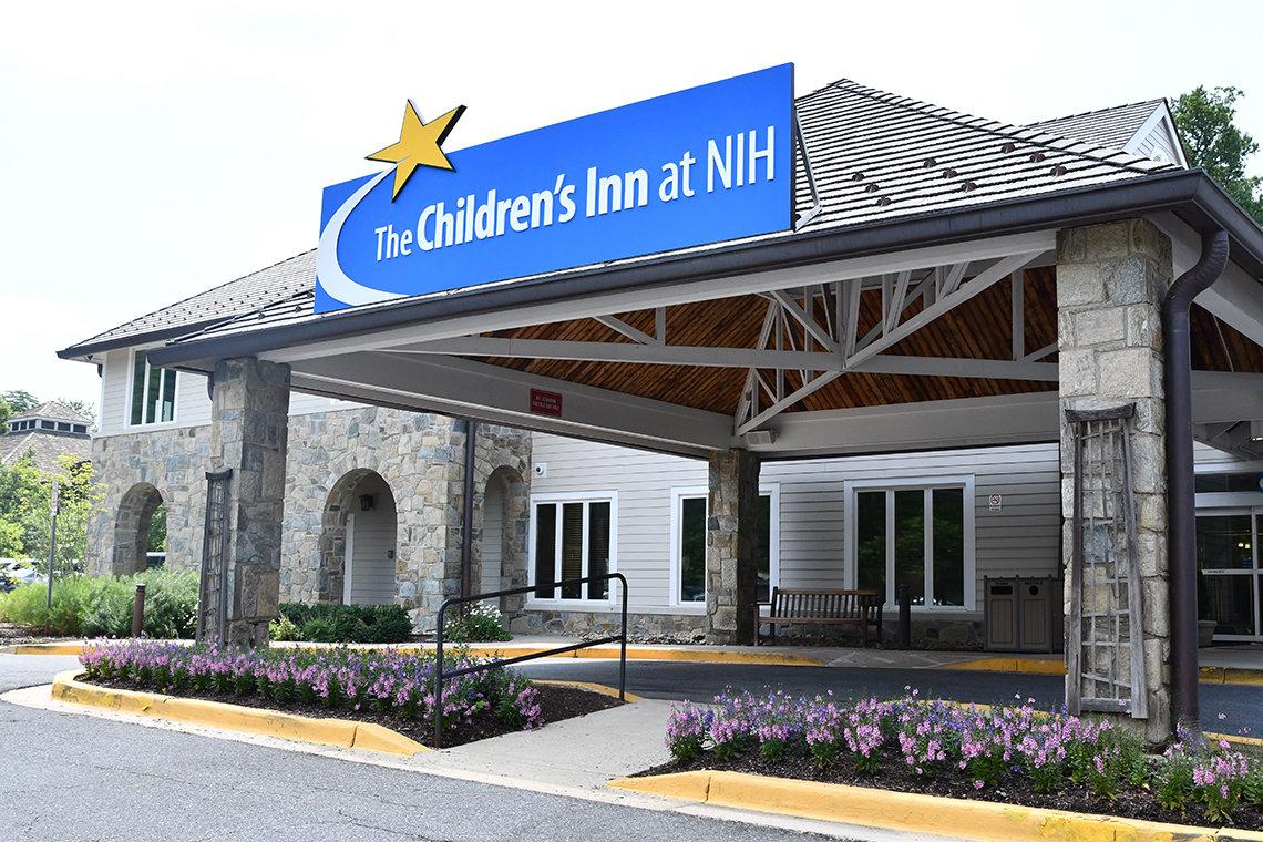 An exterior photo of the Children's Inn