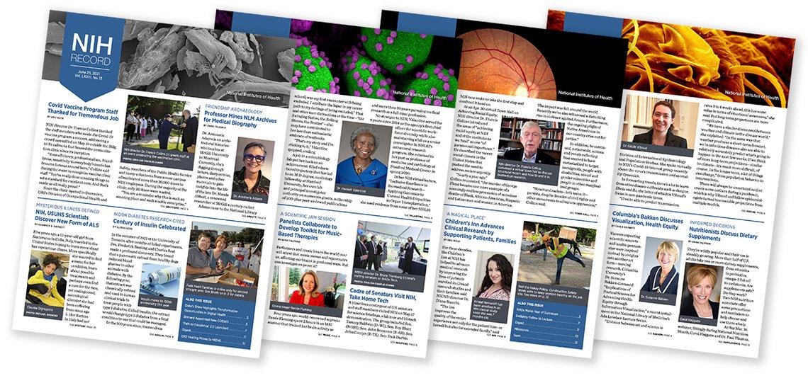 NIH Record covers