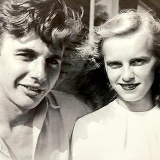 Leonard and Doris Gardner, in the early days