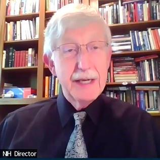 Dr. Collins speaks on video.