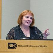 Panel moderator JoAnne Keatley of UCSF
