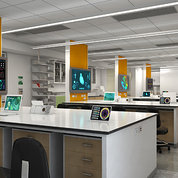Drawing of new teaching lab