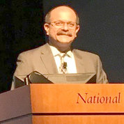 Schiffman at an NIH podium